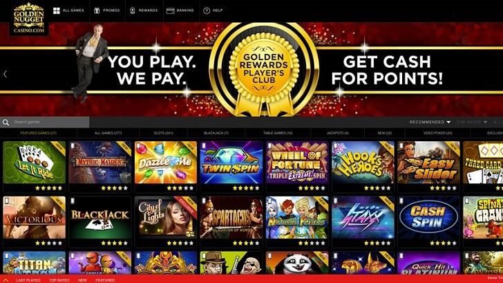 NJ Online Casino - Golden Nugget NJ Casino